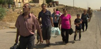 Christians fleeing Iraq