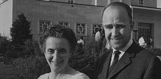 Agnes Veronika Erdös and Gustav Palm