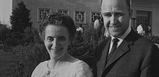 Agnes Veronika Erdös and Gustav Palm