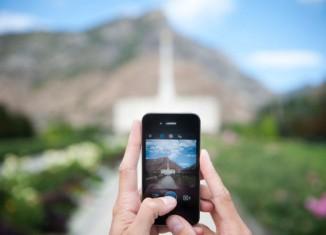 Instagram LDS temple