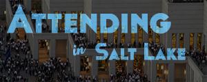 Attending in Salt Lake