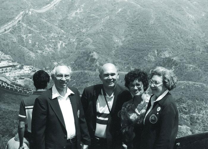 Dallin H Oaks and other BYU dignitaries visit China