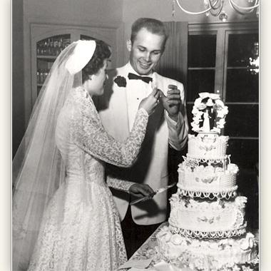 Dallin and June Oaks wedding