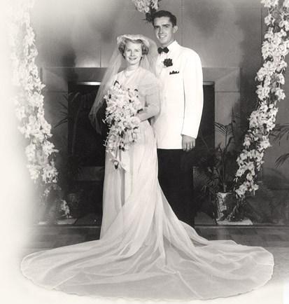 M Russell and Babara Ballard wedding