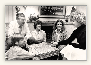 M. Russell Ballard and some of his family