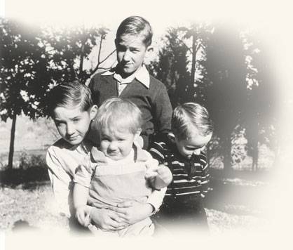 Richard G. Scott and his siblings