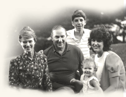 Richard G. Scott with his wife, two of his children, and a granddaughter