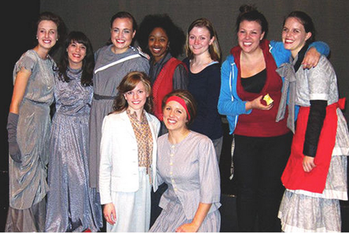 The cast of women of faith stage play