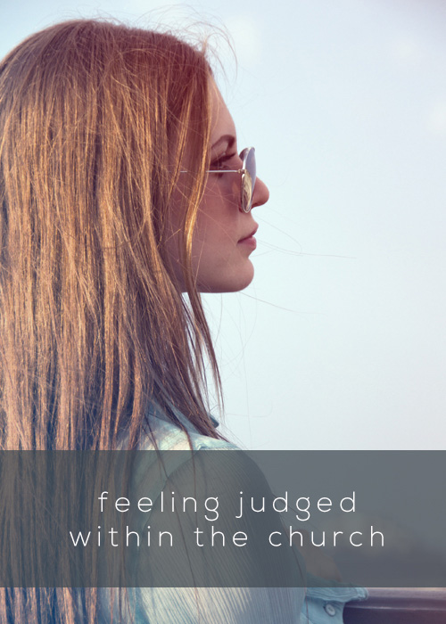 quote about feeling judged at church