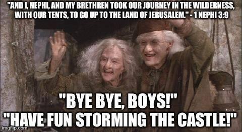 Storm the Castle Mormon Meme