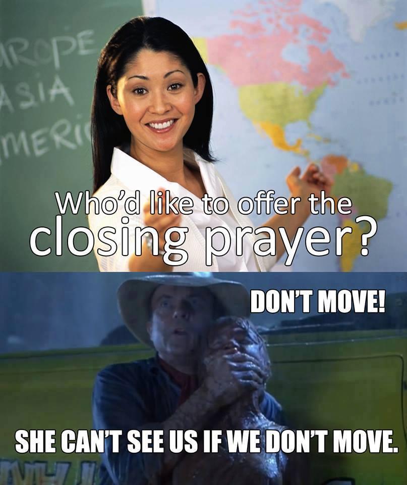 Mormon Prayer Meme Jurassic Park