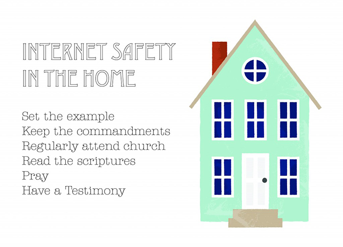 tips for internet safety in the home