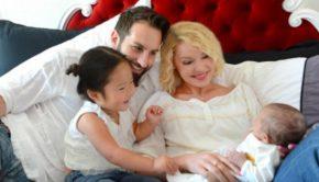 Katherine Heigl and Josh Kelley Family