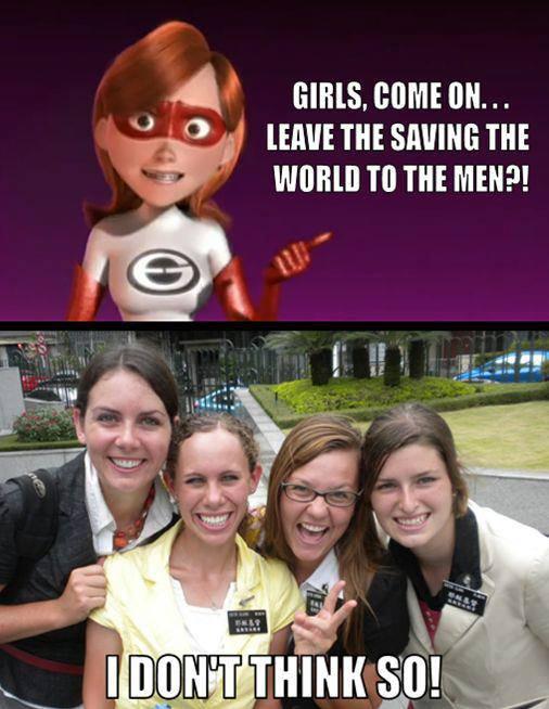 Sister Missionaries Meme