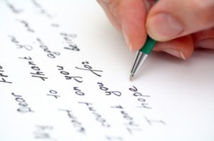 writing a missionary letter