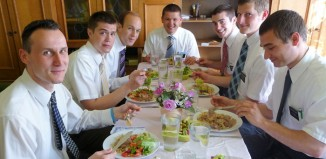 Feeding the Missionaries