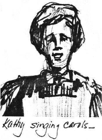Sketching, President Eyring, Wife Kathy