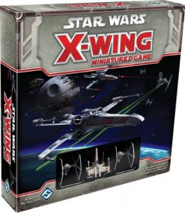 Star Wars X-Wing Miniatures Game Box Cover