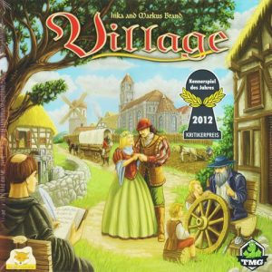 Village Board Game Box Cover