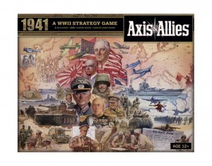 Axis and Allies 1941 Board Game Box Cover