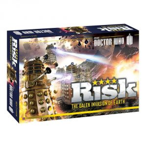 Risk Doctor Who Edition Game Box Cover