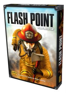 Flash Point Board Game Box Cover