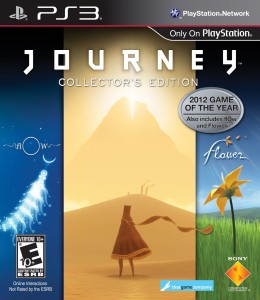 Journey PS3 Game Case