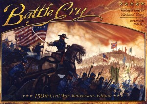 Battle Cry Board Game Box Cover