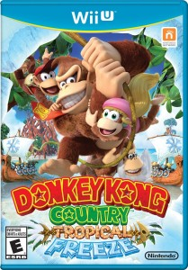 Donkey Kong Tropical Freeze Game Case for the Wii U