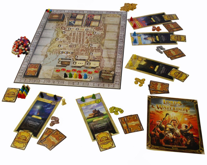 Lords of waterdeep board game set