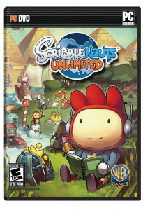 Scribblenauts game case