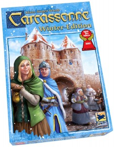 Carcassonne Winter Edition Box Cover