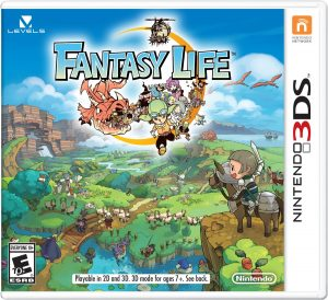 Fantasy Life 3DS Game Case