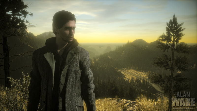 Alan Wake Cinematic Screen Shot