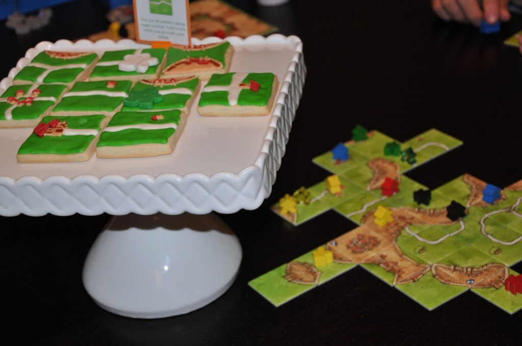 Carcassone Game themed treats for party