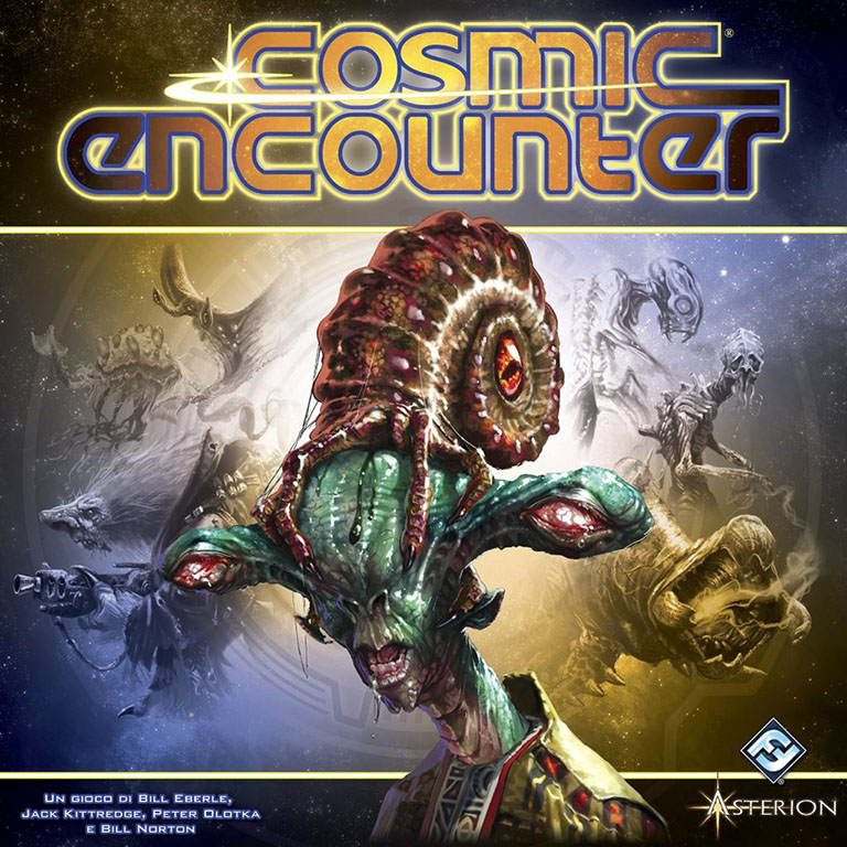 Cosmic Encounter Board Game Box