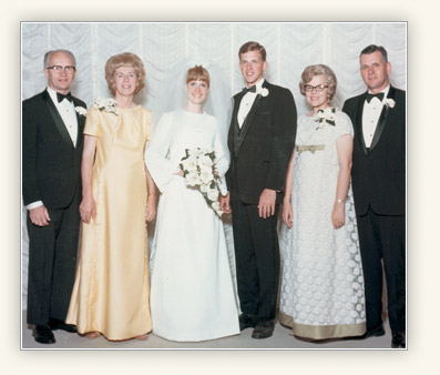 D. Todd and Kathy Christofferson wedding