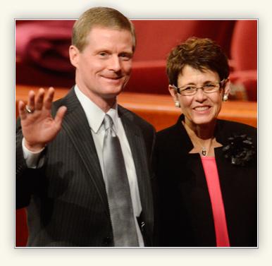 David and Susan Bednar
