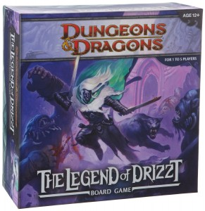 Legend of Drizzt Board Game Box Cover