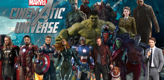 The characters from the Marvel Cinematic Universe