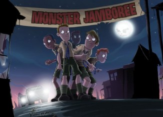 Monster Jamboree by Brandon Mull Illustration