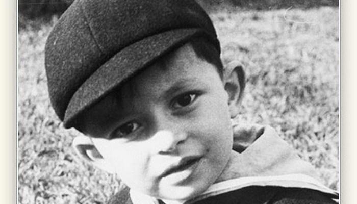 Portrait of Robert D. Hales as a boy