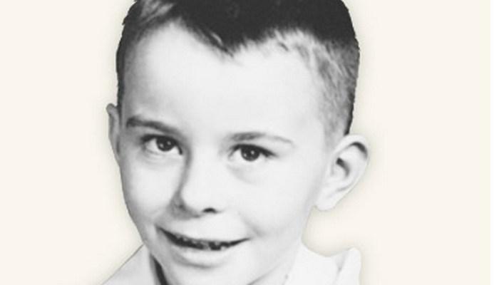 portrait of Quentin L. Cook as a boy