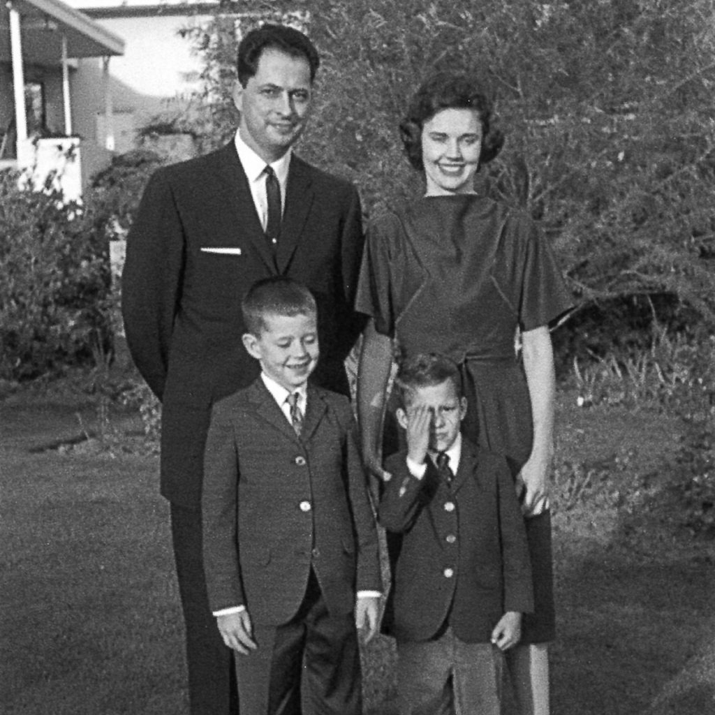 Robert D. Hales with his wife and two sons