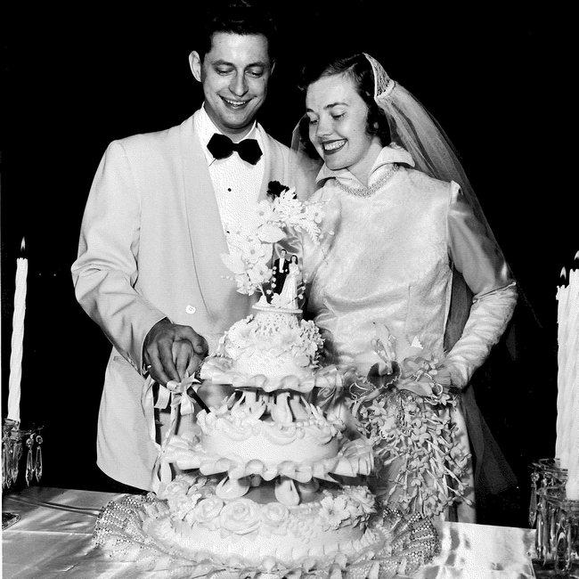 Robert and Mary Hales wedding