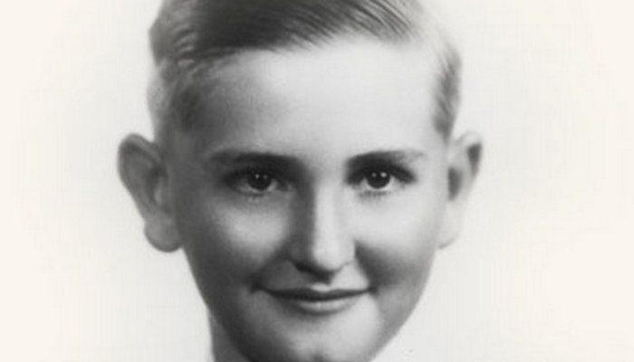 Thomas S. Monson as a boy