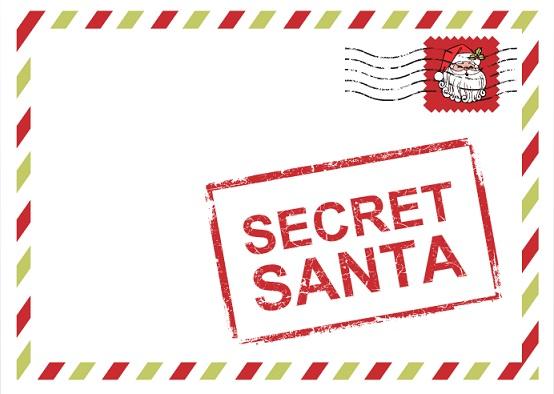 Secret Santa letter.