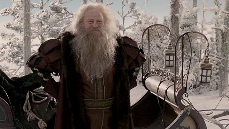 Santa Claus from Narnia.
