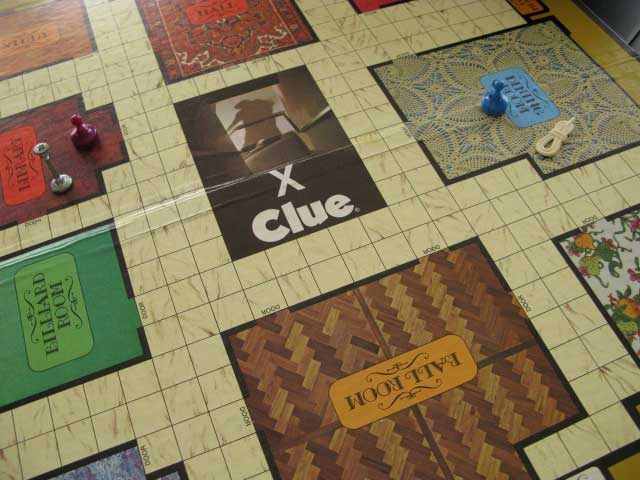 clue board game 1986
