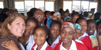 Days for Girls providing humanitarian kits to adolescent women in Kenya